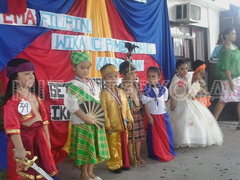 Buwan Ng Wika Celebration Buwan ng Wika 2015 Sch...