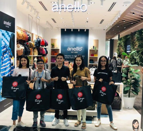 Anello Bags, Now at SM City Olongapo Central