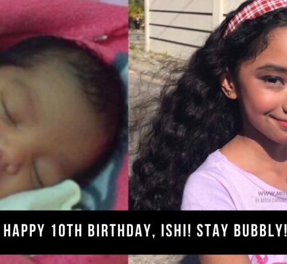 Happy 10th Birthday, Ishi!