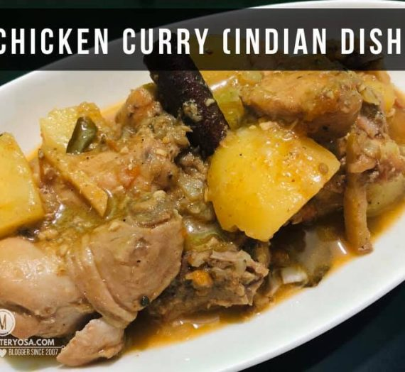 Chicken Curry, an Indian dish