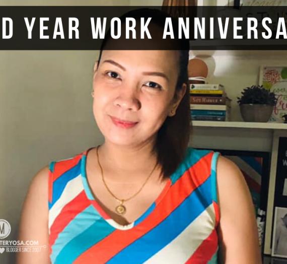 Celebrating 2nd Year Work Anniversary
