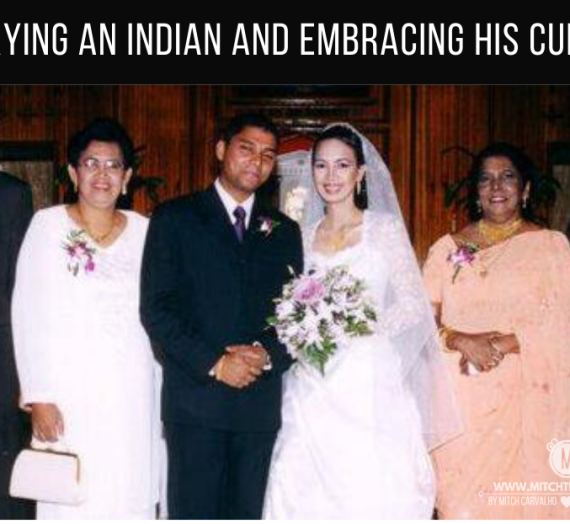 Marrying an Indian and embracing his culture