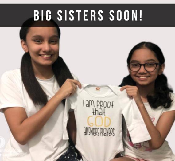 Big sisters soon!