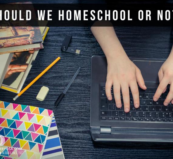 Should we homeschool or not?