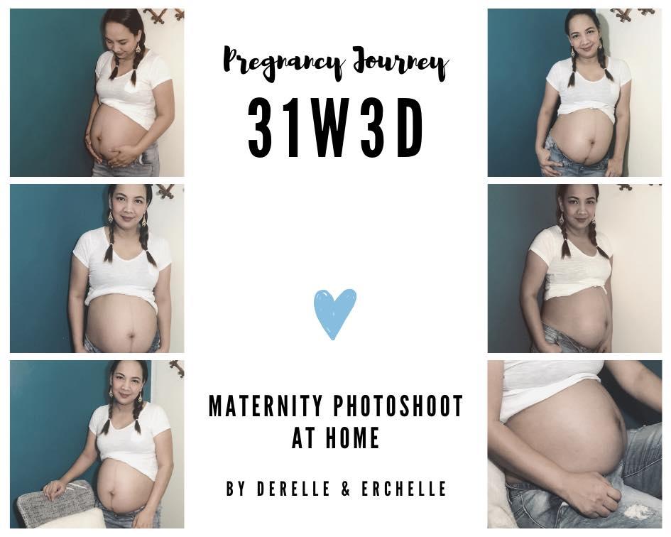diy maternity photoshoot