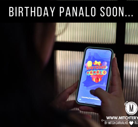 Birthday Panalo, an entertainment app made for Filipinos