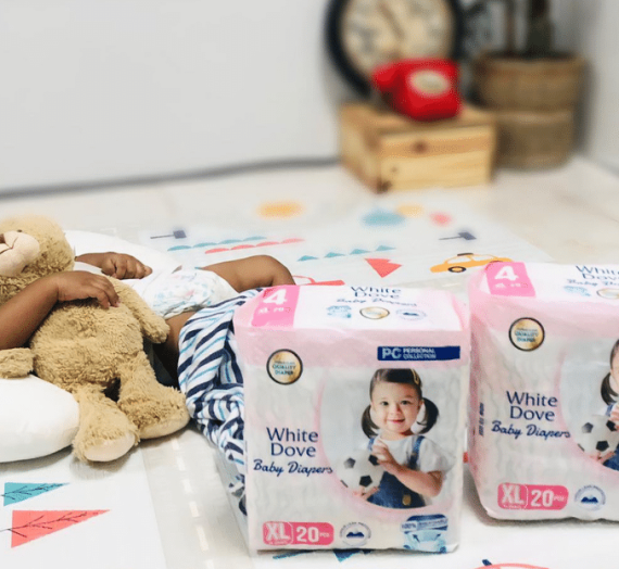 White Dove, a budget-friendly baby diaper